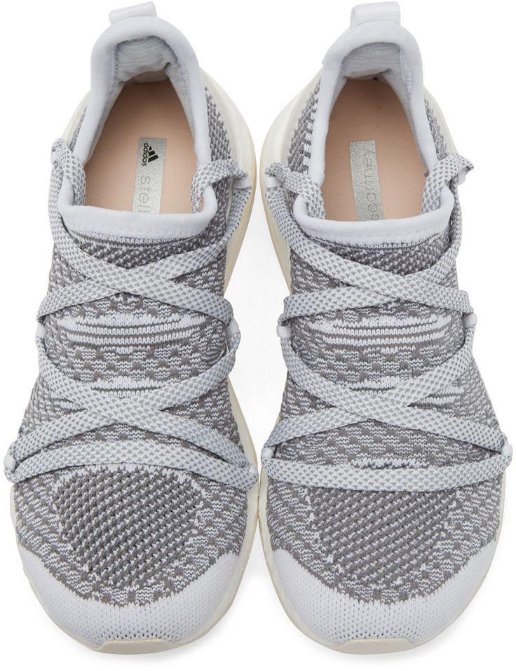 adidas by Stella McCartney White Pureboostx Sneakers