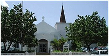 Elmslie Memorial United Church celebrated their 90th anniversary in the Cayman Islands in 2012!