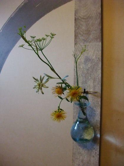 梅雨晴れ : 一茎草花