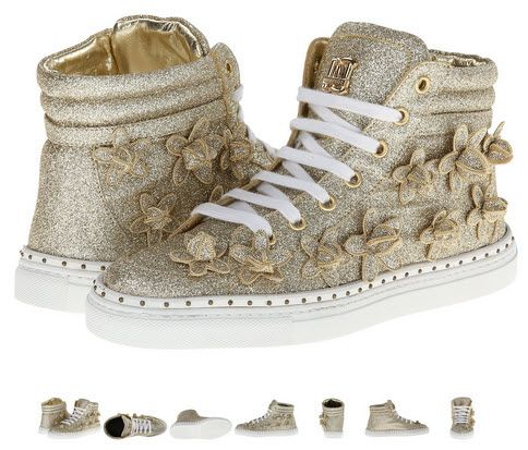 DSQUARED2 Glitter Sneakers