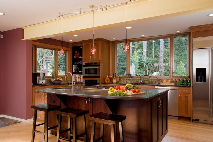 Post And Beam Kitchen Ideas