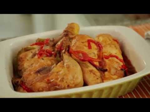 Receta de pollo al horno - YouTube