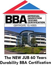 JUB  is a leading manufacturer of high quality External Wall Insulation systems, coloured render and environmentally friendly paints which we are proud to use.