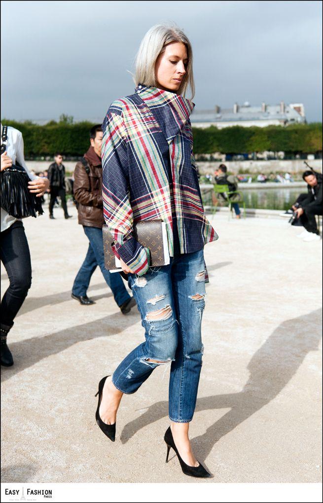 Multi-Wear Wrap - Plaid Please 56 by Leo by VIDA VIDA ugwNN6n