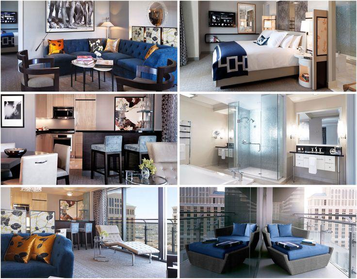 cosmopolitan wraparound terrace suite glass doors open to an
