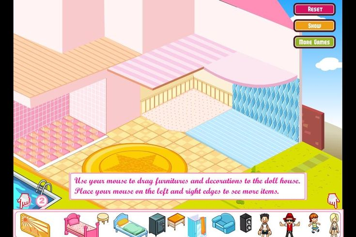 Play free online barbie house decoration games