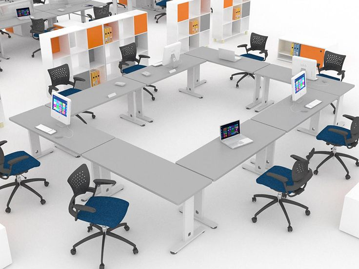 Espacios de trabajo multifuncionales - Muebles para oficina - Poliarte