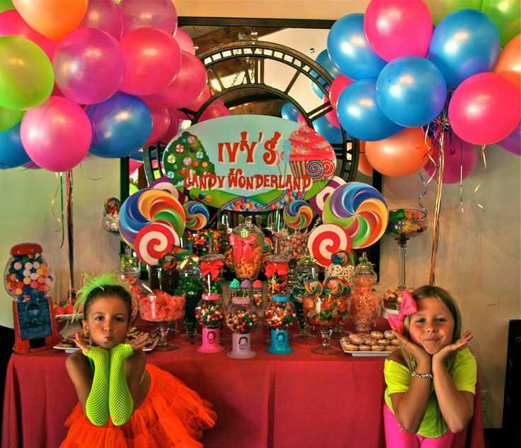 Neon Candy Wonderland 80 S Party 80 S Party Ideas