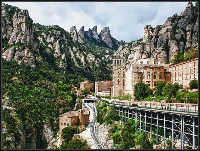 Montserrat, Catalunya, España