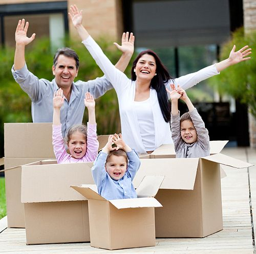 9 Moving Tips To Help Ease The Stress This would be a cute for moving picture...:-)