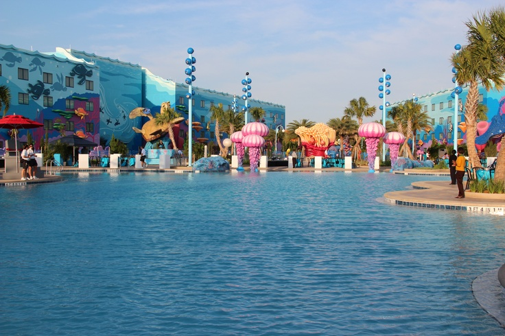 Check out Art of Animation Resort if you are heading to Disney World, affordable and cool looking