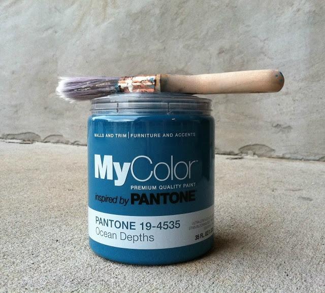 Ocean Depths Pantone MyColor MyColor Paints Inspired