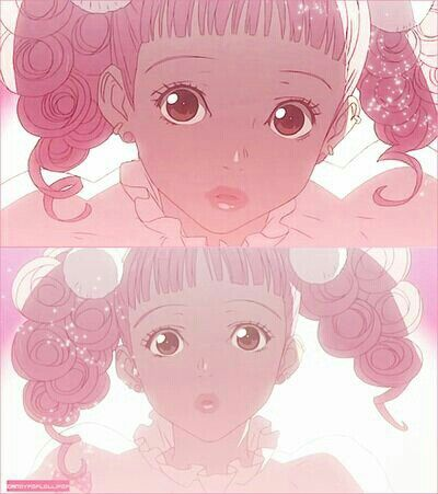 Paradise kiss-I'm in heaven and a pink angel is in front of me...