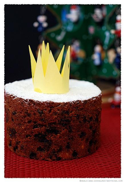 English Twelfth Night Cake Recipe