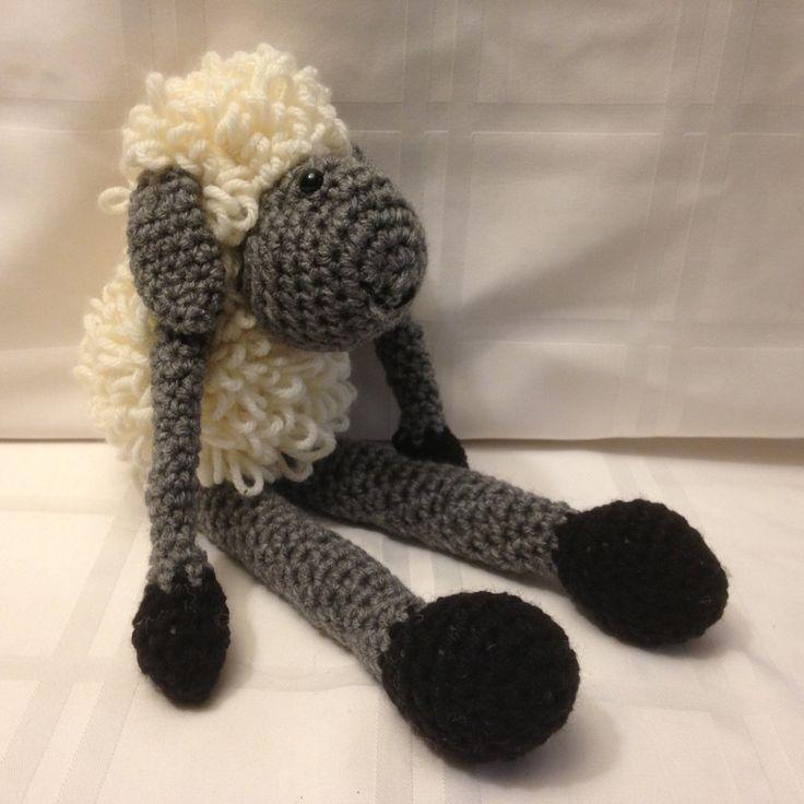 Amigurumi - Handmade Crochet - Smiling Lamb by Judy Ann's Crochet by JudyAnnsCrochet on Etsy