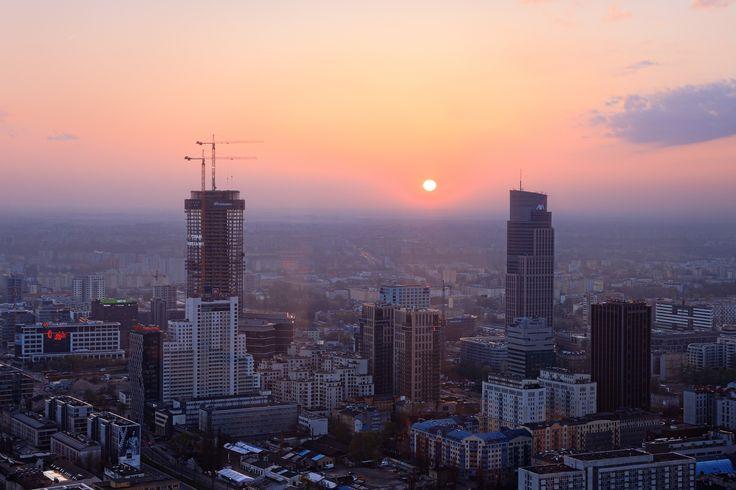 Warsaw seen from 50th floor of ZŁOTA 44 #city#Warsawa#Złota44#view