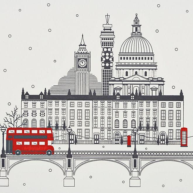 City of London Christmas Cards - Smythson
