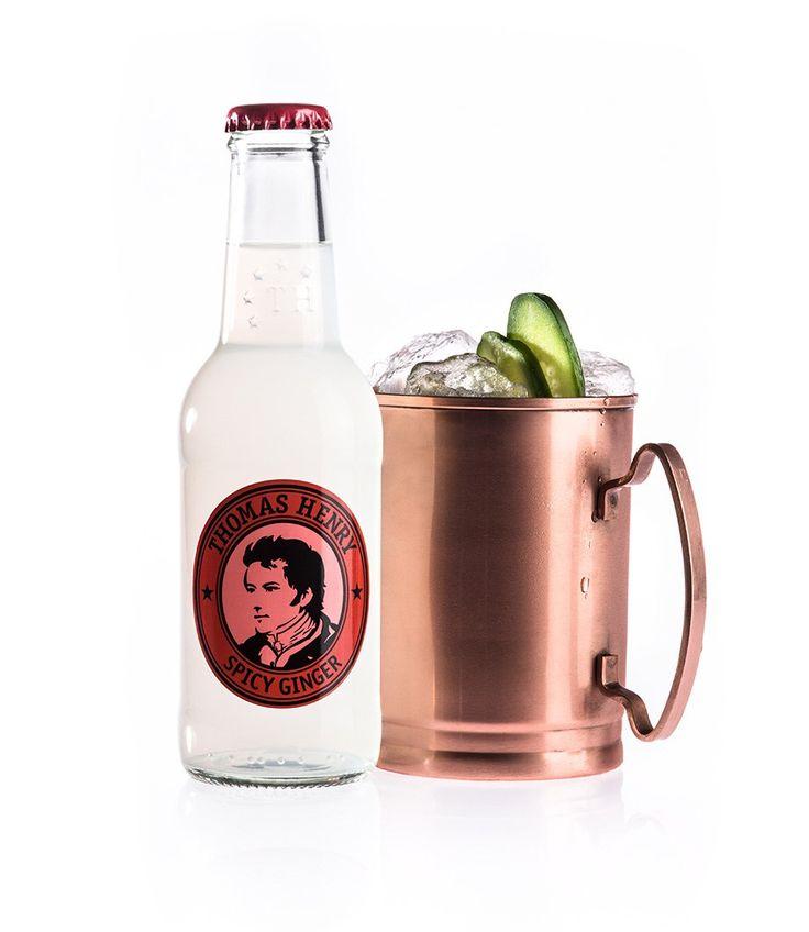 Der Mocsow Mule ist ein beliebter Klassiker & wird dank Thomas Henry Spicy Ginger zu einem echten Premium Drink! Das ✓ Rezept & Tipps gibt's bei uns online.