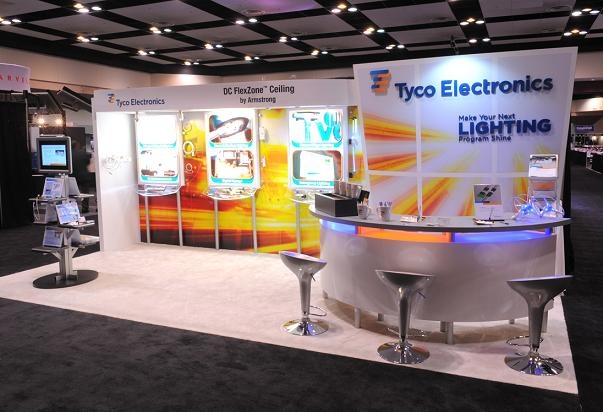 Small Exhibition Stand Lighting : Best images about tradeshow booth and swag on
