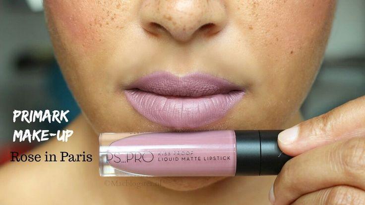 """""""Kiss proof en long lasting"""", dit is hoe Primark haar matte liquid lipsticks omschrijft. En dat voor maar €4 en ook nog eens in allerlei metallic kleuren! Die kan ik niet laten liggen, toch? Laat ik dan ook maar eens testen hoe kiss proof Primark PS Pro Liquid Matte Lipstick is en hoe lang het blijft zitten.Lees nu mijn review: http://macblogster.nl/hoe-kiss-proof-is-primark-ps-pro-liquid-matte-lipstick/"""