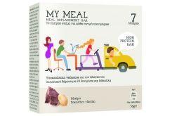 """Εικόνα του """"Power Health My Meal Μπάρα Υποκατάστατο Γεύματος Σοκολάτα Φιστίκι, 7 x 56gr """""""