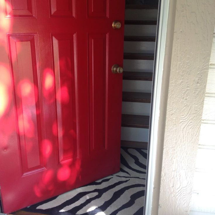 Modern Red Front Door: 1000+ Images About Doors & Windows