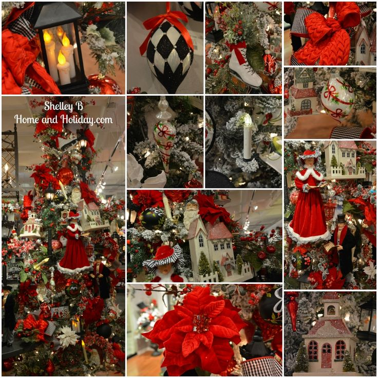 Christmas Tree Shop Hours Pa Part - 26: Finest Raz Town Square Decorated Christmas Tree Shop For All The Items  Shown In This Photo With Christmas Tree Shop Hours