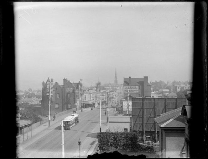 Cable tram travelling westwards along Toorak Road, South Yarra, c1890. South Yarra Post Office is on the left. Beere, Daniel Manders, 1833-1909 :Negatives of New Zealand and Australia. Ref: 1/4-034722-G. Alexander Turnbull Library, Wellington, New Zealand. http://natlib.govt.nz/records/23031821