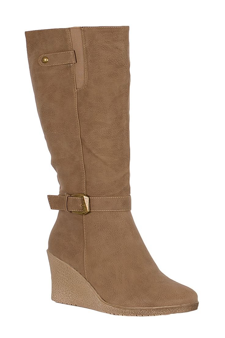 Adelle Seudette Wedge Knee Boots Khaki http://www.fuchia.co.uk/products/footwear/boots/adelle-seudette-wedge-knee-boots-khaki.aspx