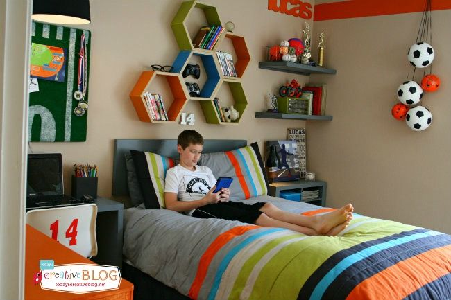 Cool Bedrooms for Teen Boys | TodaysCreativeBlog.net