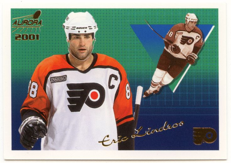 Eric Lindros # 108 - 2000-01 Pacific Aurora Hockey