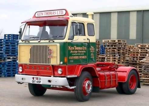 1975 Volvo truck
