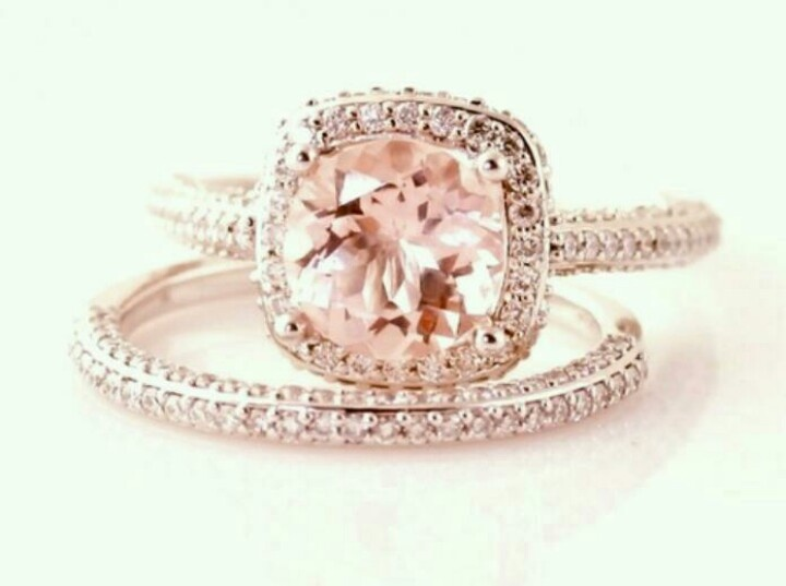 Stunning Blush Pink Diamond Ring This Is THE BEST Ever