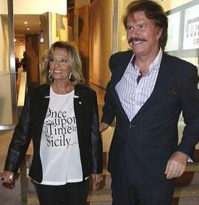 María Teresa Campos (73 años) Conductora TV disfruta junto a Bigote Arrocet de una historia de amor ilusionante. ¡La vida hay que vivirla!
