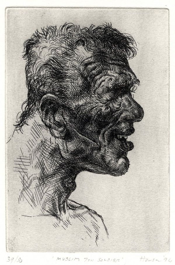 Peter Howson - Muslim 7th Soldier (1994)