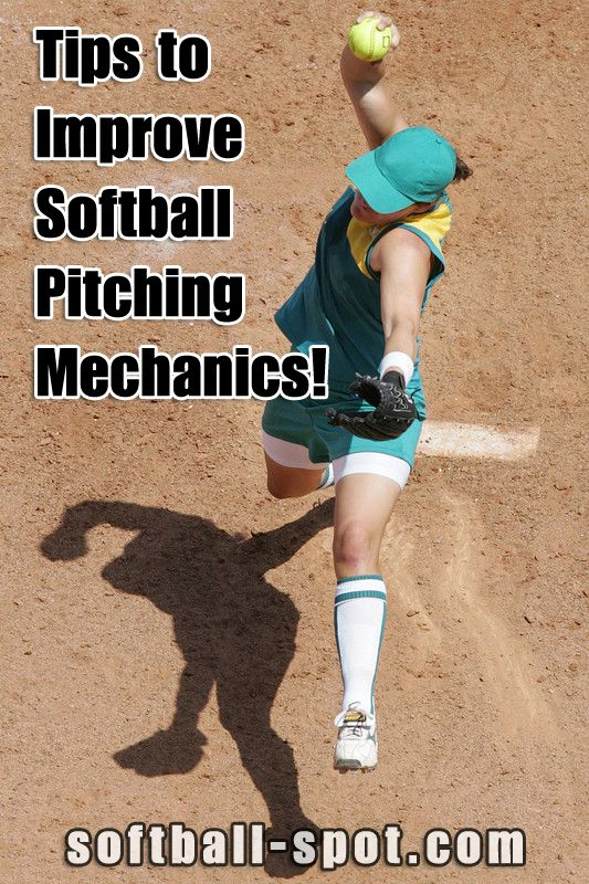 Tips to improve pitching mechanics.