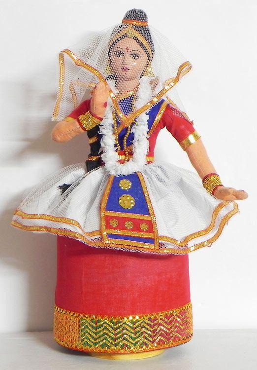 Manipuri Dancer as Radha (Cloth)