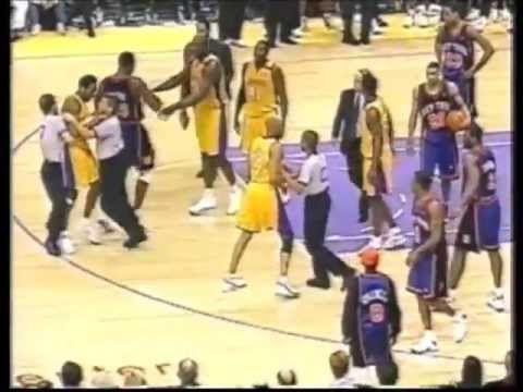 The Time Kobe Bryant Got Decked By Chris Childs