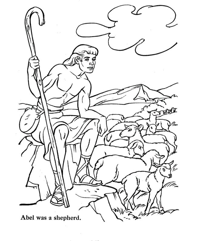 bible story coloring pages for kids printable