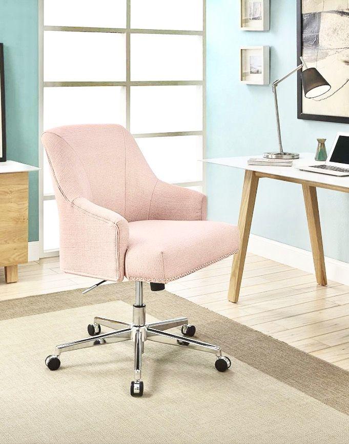 Blush Pink Desk Chair Home Office Chairs Pink Desk Chair Office Chair