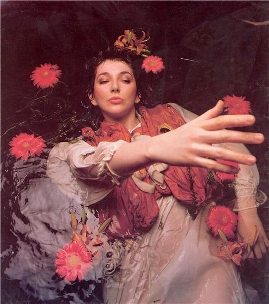 Kate Bush has taken so many risks with her music and pushed boundaries with her evolving creativity...I love that about her! :)