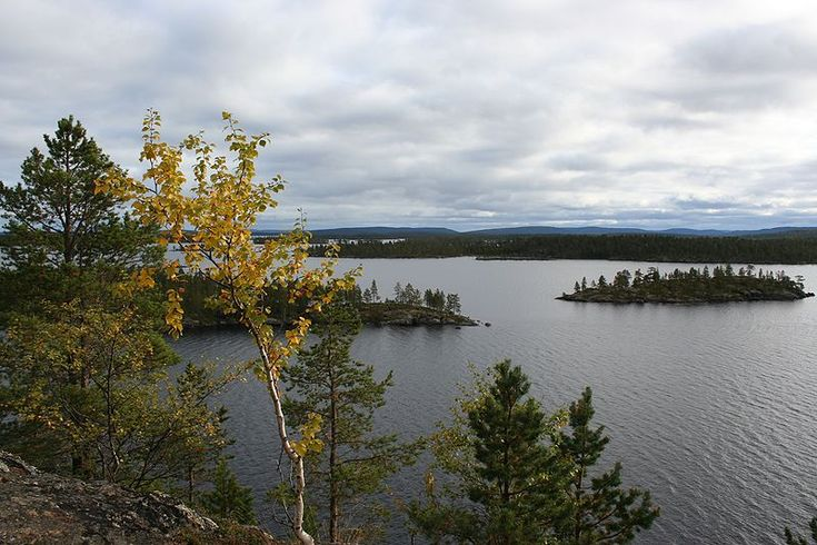 View on Inari Lake