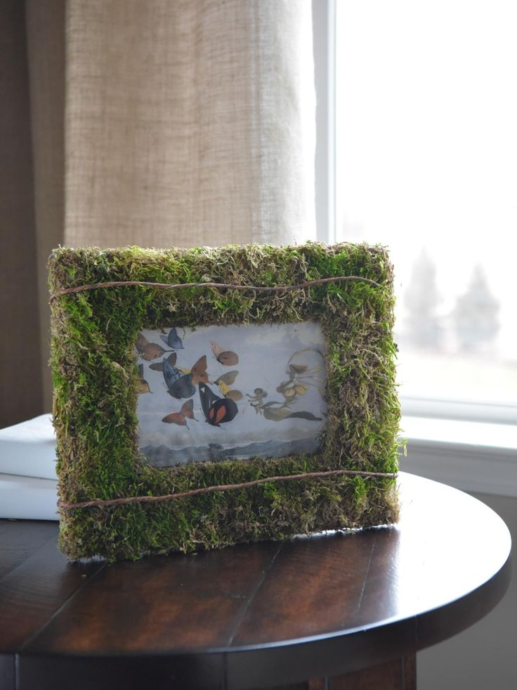 10 Creative Ways to Decorate with Moss >> http://www.hgtv.com/design/make-and-celebrate/handmade/1/creative-ways-to-decorate-with-moss?soc=pinterest