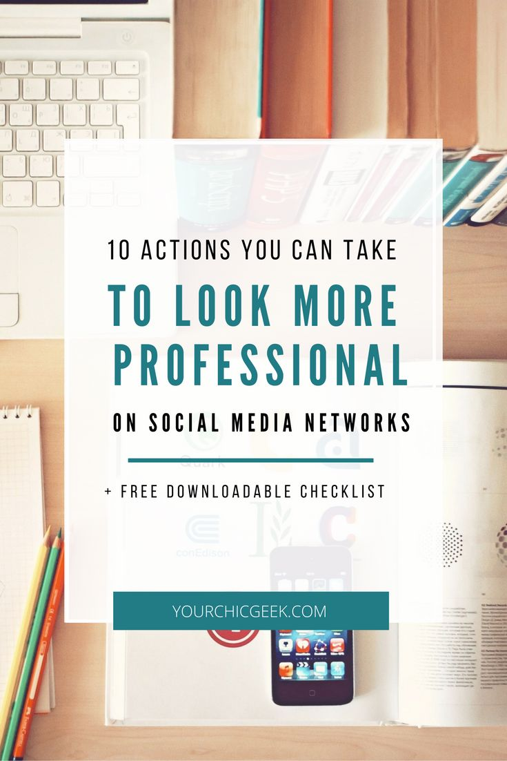Want to look more professional on social media? Here is a blog post that covers 10 tips that you can use to get started.