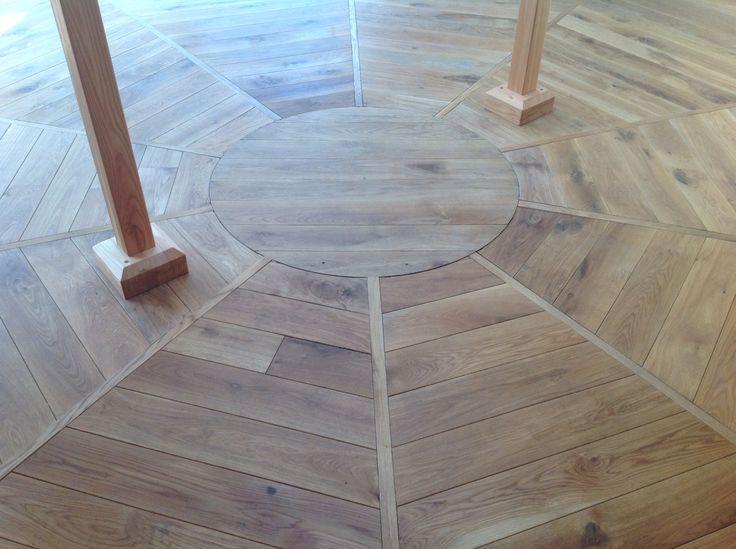 T.Budil Yourt floor,Oak. Made for Naturhotel Lusnerhof,South Tirol