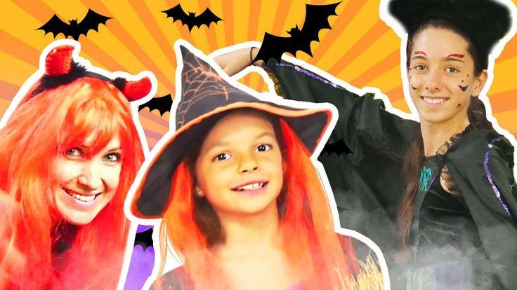 Хэллоуин! Детское видео. Хэллоуин костюм для Маши Капуки Кануки от мален...
