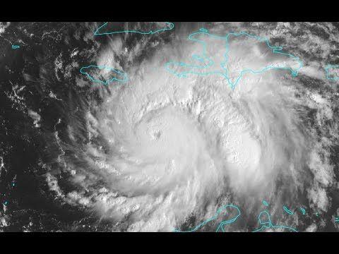 Hurricane Matthew 24 Hours From Catastrophic Haiti Strike! - YouTube