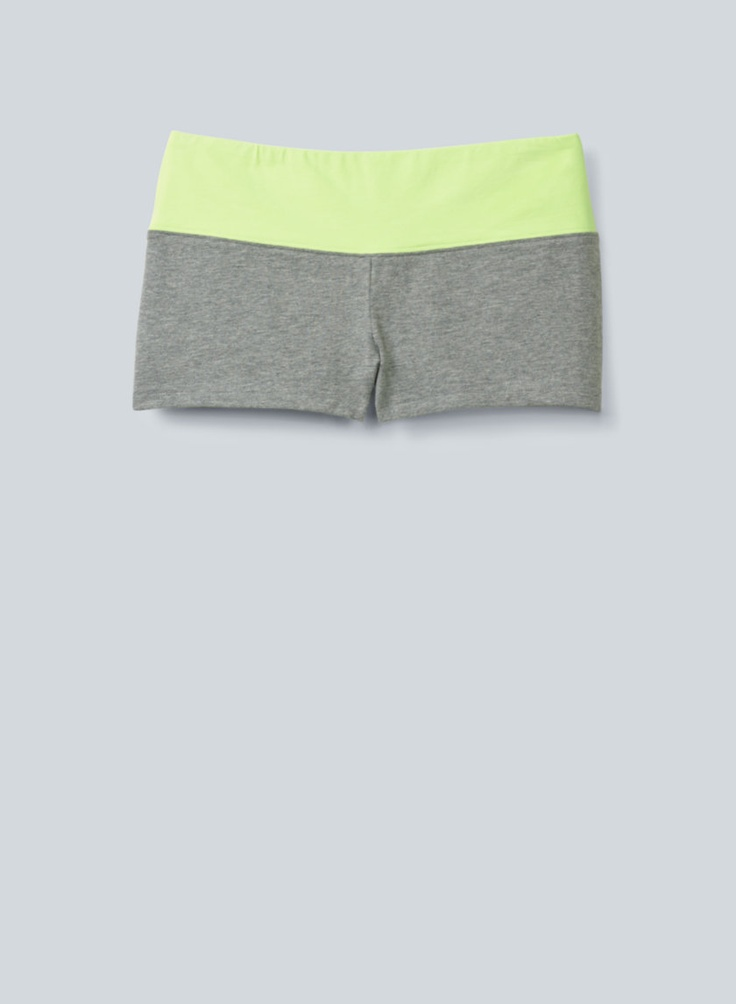 TNA Solstice Shorts, now available at Aritzia.com. #neon