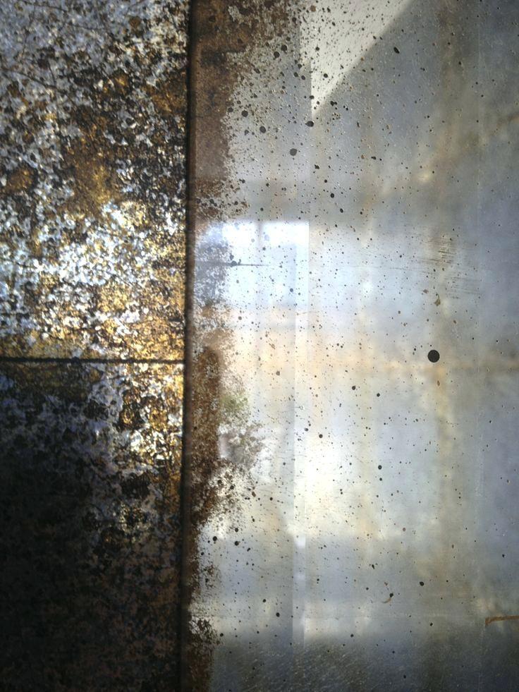 Antique Mirror Wallpaper White Gold With Distressed Edges By White Gold With Distressed Edges By Br Antique Mirror Wallpaper Antique Mirror Wall Mirror Texture