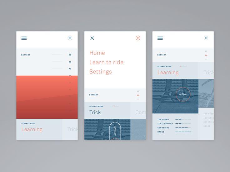 Onewheel App by Raffael Stüken #UI
